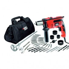Trapano Black & Decker con percussione + accessori