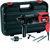 Martello tassellatore Black & Decker 550 W + accessori